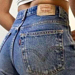 levi's | vintage 550 high waisted mom jeans sz 10